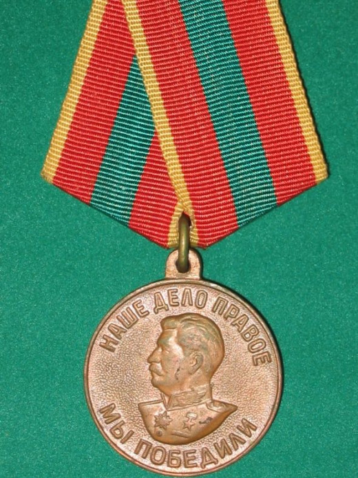 WWII Valiant Labour Medal - USSR