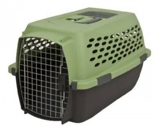 Petmate Kennel Cab Intm Moss Bank Coffee