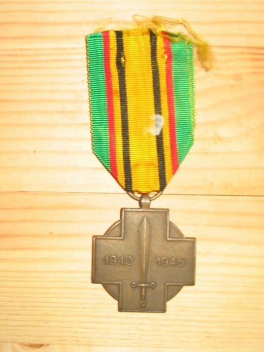 Belgian Fighter Medal of WWII