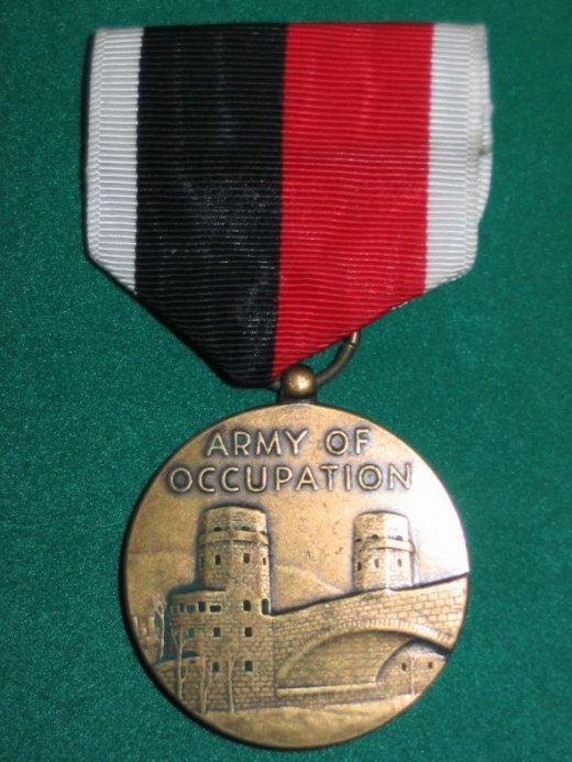 WWII US Army of Occupation Medal - Japan