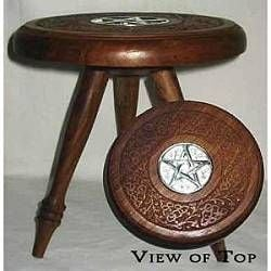wiccan altar table