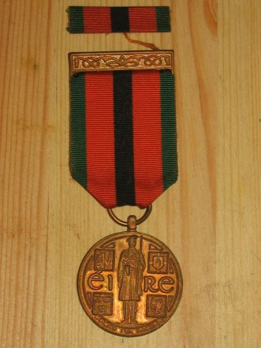 "Republic of Ireland 1921-1971 Survivor's Medal - ""The Truce Commemorative Medal 1971"" - obverse"