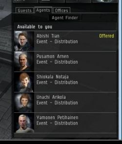 Eve Online agents