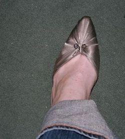 matching high heels