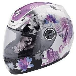 Scorpion EXO-400 Lilly Ladies Motorcycle Helmet Ladies