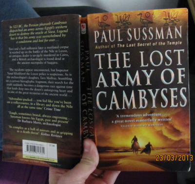 My Copy Of The Lost Army Of Cambyses