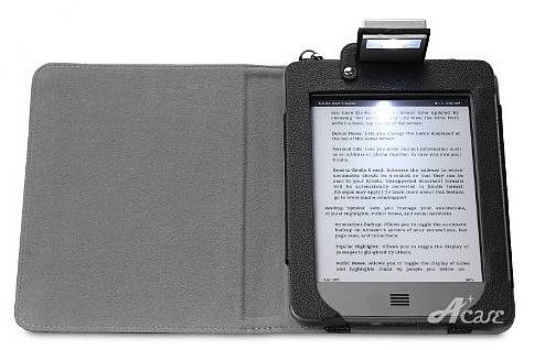 Kindle Touch Reading book Light Leather Case by Acase