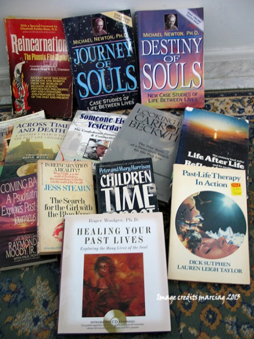 some of my reincarnation books