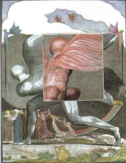 Death - Transformation in William Blake Tarot