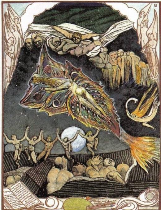 Liberty William Blake Tarot