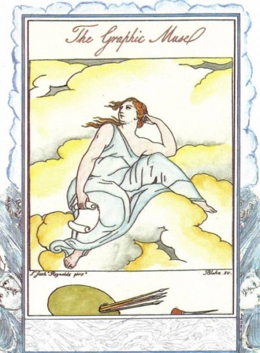 Angel William Blake Tarot