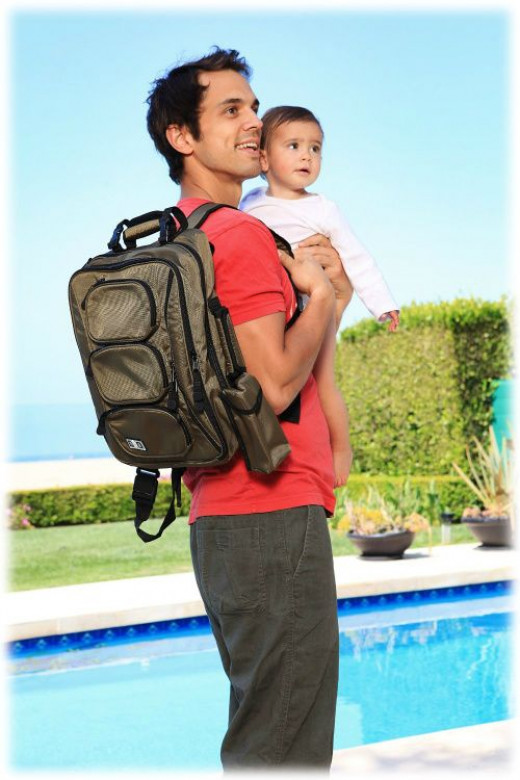 Baby backpack diaper bags are functional and fashionable...