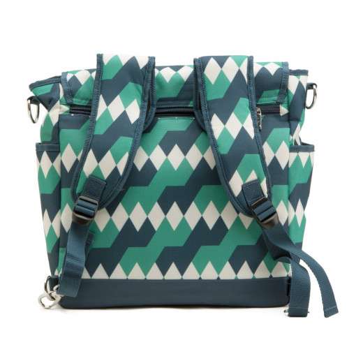 Backpack style diaper bags are very comfortable to wear