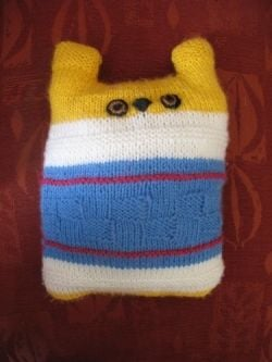Knitted Stuffed Toy