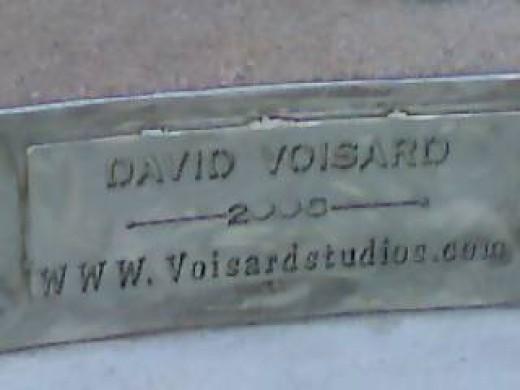 Artist David Voisard