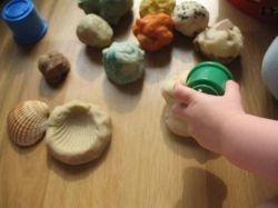 Molding play-dough