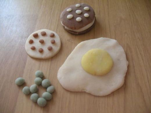 Play-dough Food