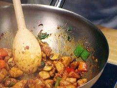Chinese cooking equipment - wok