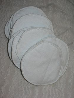 Easy homemade nursing pads.