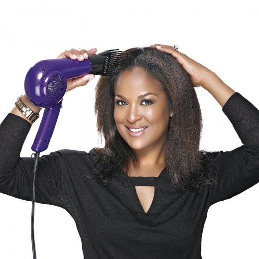using best blow dryer for thick hair