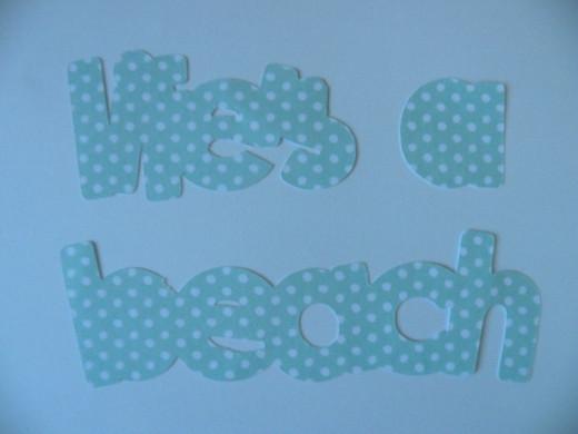 Life's a Beach Shadow layer