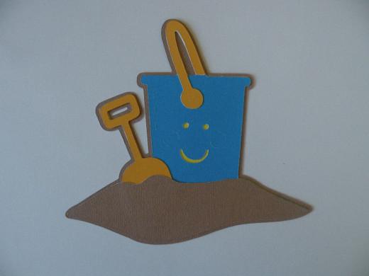 Adhere sand layer