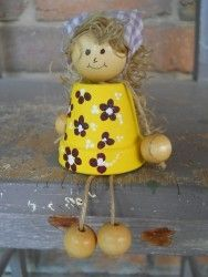 A terracota doll