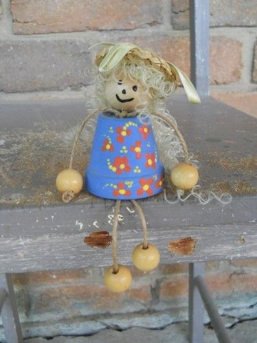 A new addition to our terracotta doll family