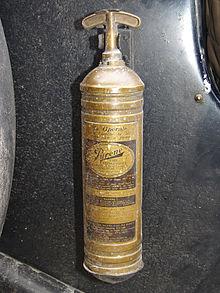 fire extinguisher Inventor