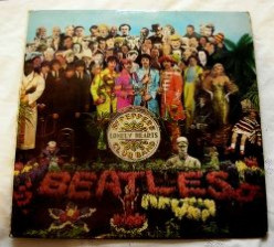 Sgt. Pepper's Lonely Hearts Club Band - Iconic Record Cover 1967