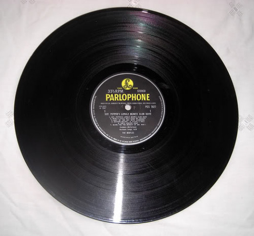 Beatles Sgt Peppers Lonely Hearts Club Band - Parlophone Record, stereophonic 1967