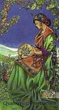 Robin Wood Queen of Pentacles