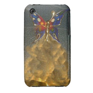 A Turbo Butterfly design on an iPhone Case
