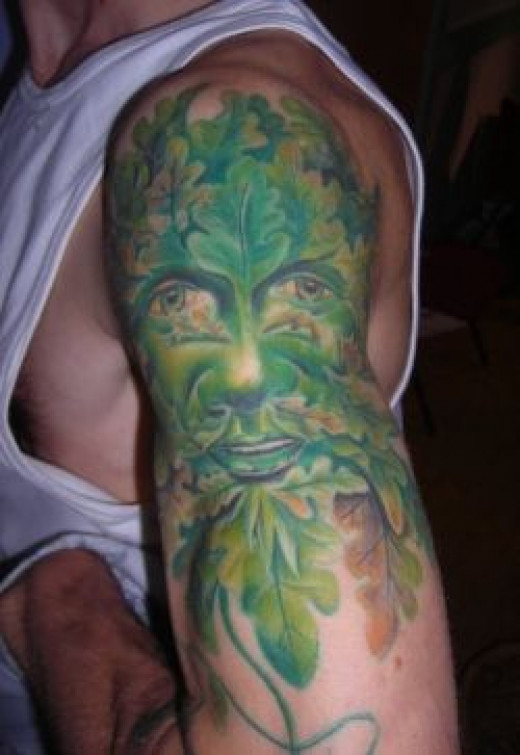 The Green Man - Tattoo