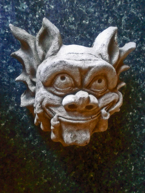 I bought this Gargoyle at Columbia Road Market in East London