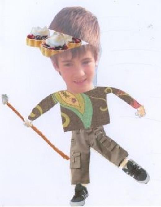 My son, Alex as a 'mini-me'.