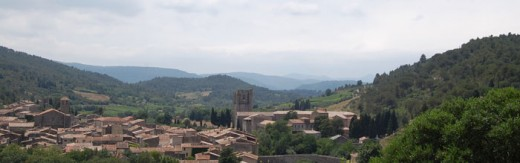 Lagrasse - capital of Corbieres