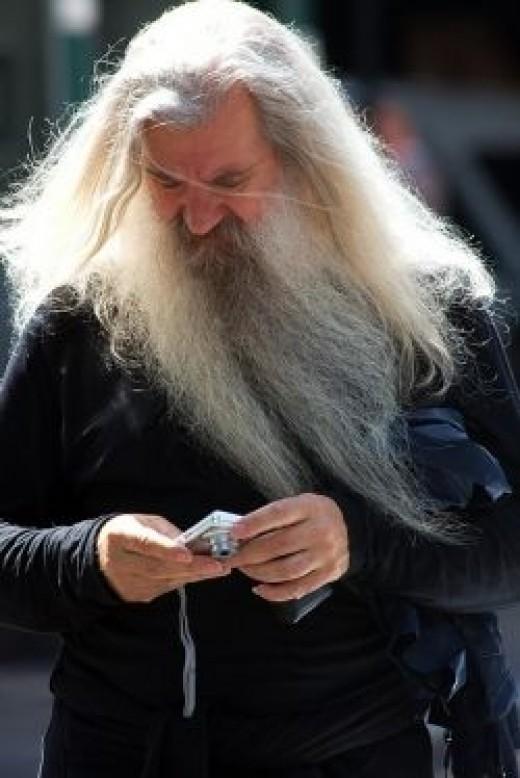 Wonderful wizard beard. (CC.BY.2.0)