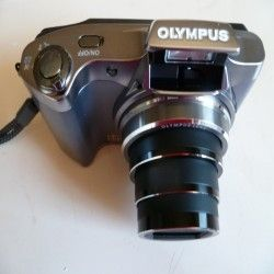 The Olympus SZ14 camera, straight out of the box.