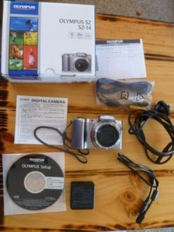 Olympus SZ-14 - What's in the box