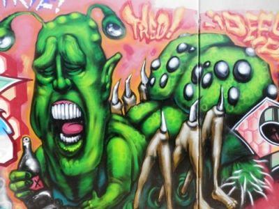 Local Graffiti Art - Taken with the Olympus SZ-14