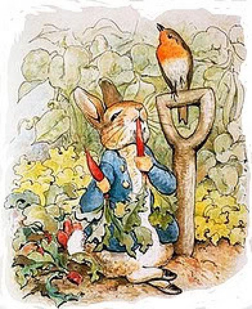 Beatrix Potter, 'Original illustration for The Tale of Peter Rabbit'