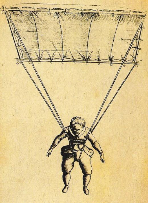First Parachute