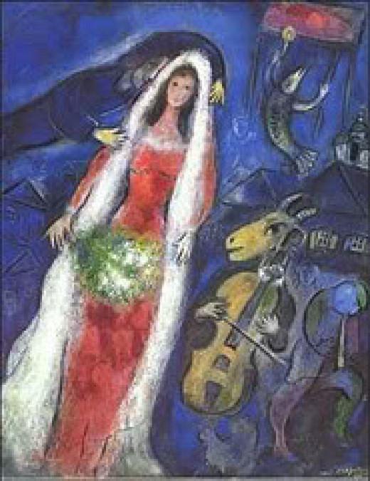 Chagall - la Marriee