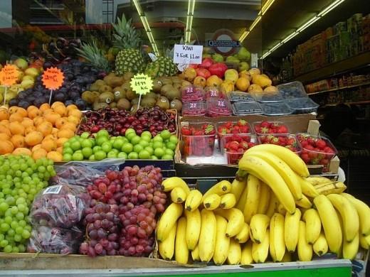 London Fruit Stall