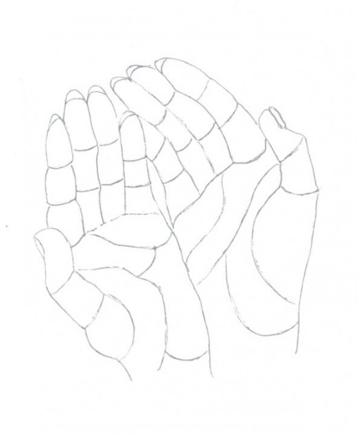 Hands outline (source: TheRaggedEdge)