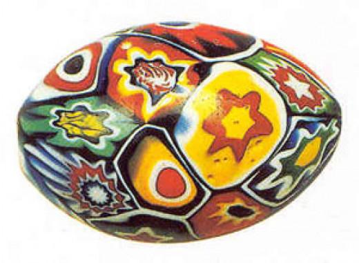 millefiore bead