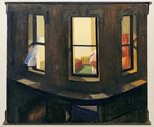 Edward Hopper - Night Windows
