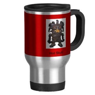 Fire-Breathing Aztec Mug -