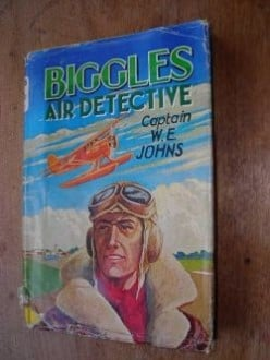 Biggles by Capt. W E Johns - Vintage Boyhood Favourites